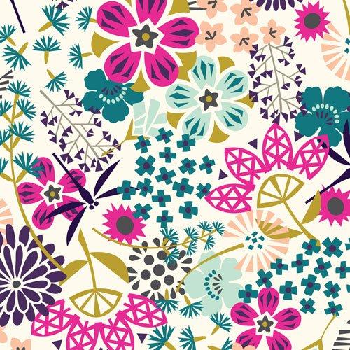 Koi cloud9 fabrics the way of flowers sciox Gallery