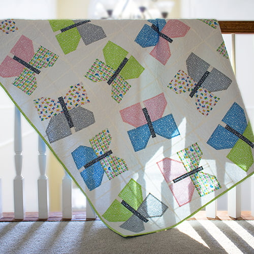 Butterfly Quilt | Ed Emberley's Picture Pie