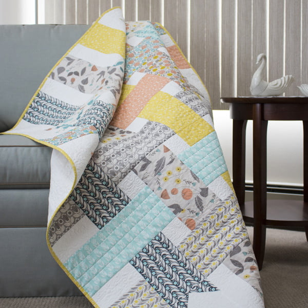 Ribbon Box Quilt draped