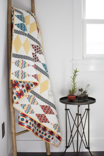 Make It Sew! Totem Quilt by Michelle Engel Bencsko for Cloud9 Fabrics featuring Enchanted.