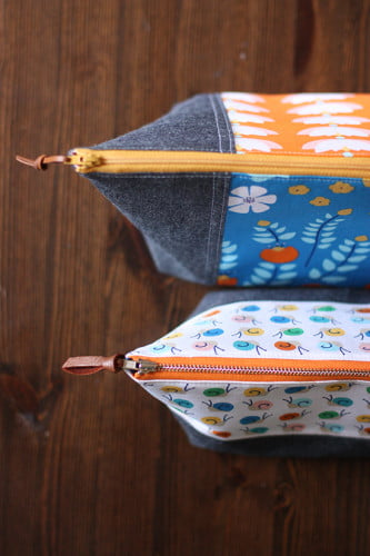 Wide Open Pouches by Anna Graham {Noodlehead} Photo by Anna Graham.