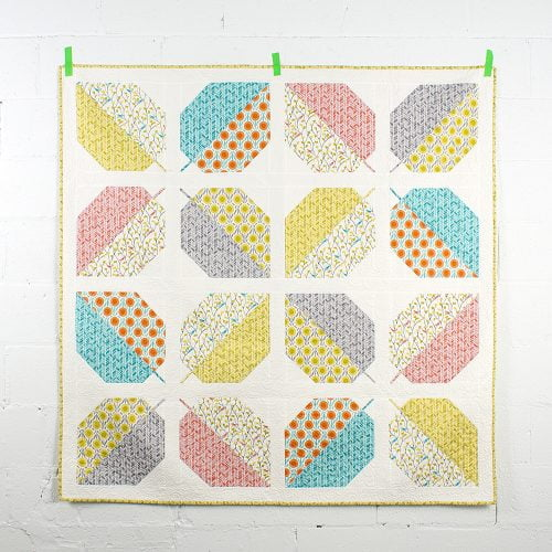 Turning Leaves Quilt adapted.