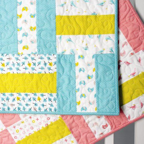 Make It Sew Flannel Baby Quilt Cloud9 Fabrics