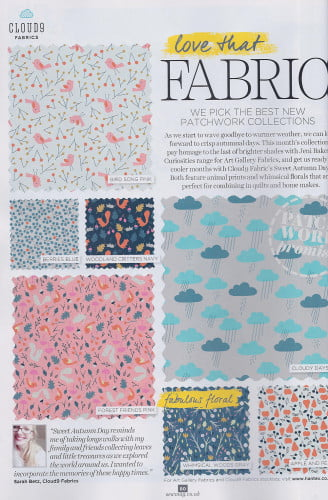 Sew Magazine - Cloud9 Issue 75 Sept 2015-2